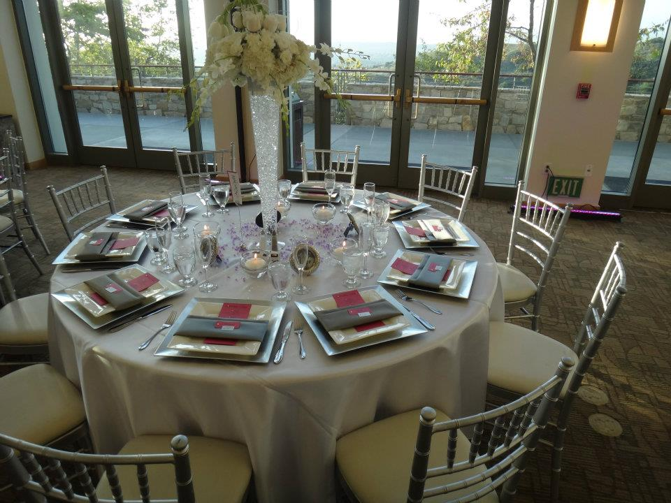 BeDazzle My Events BeDazzle My Events At The Lovely Diamond Bar Center - Diamond bar table