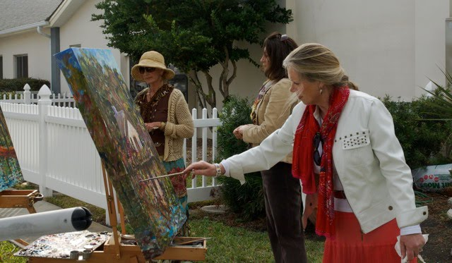 Plein Aire Cottage Artists-3 Members/3 Friends/1 Vision