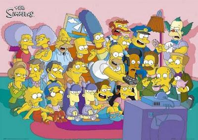 Poster Original dos Simpsons.
