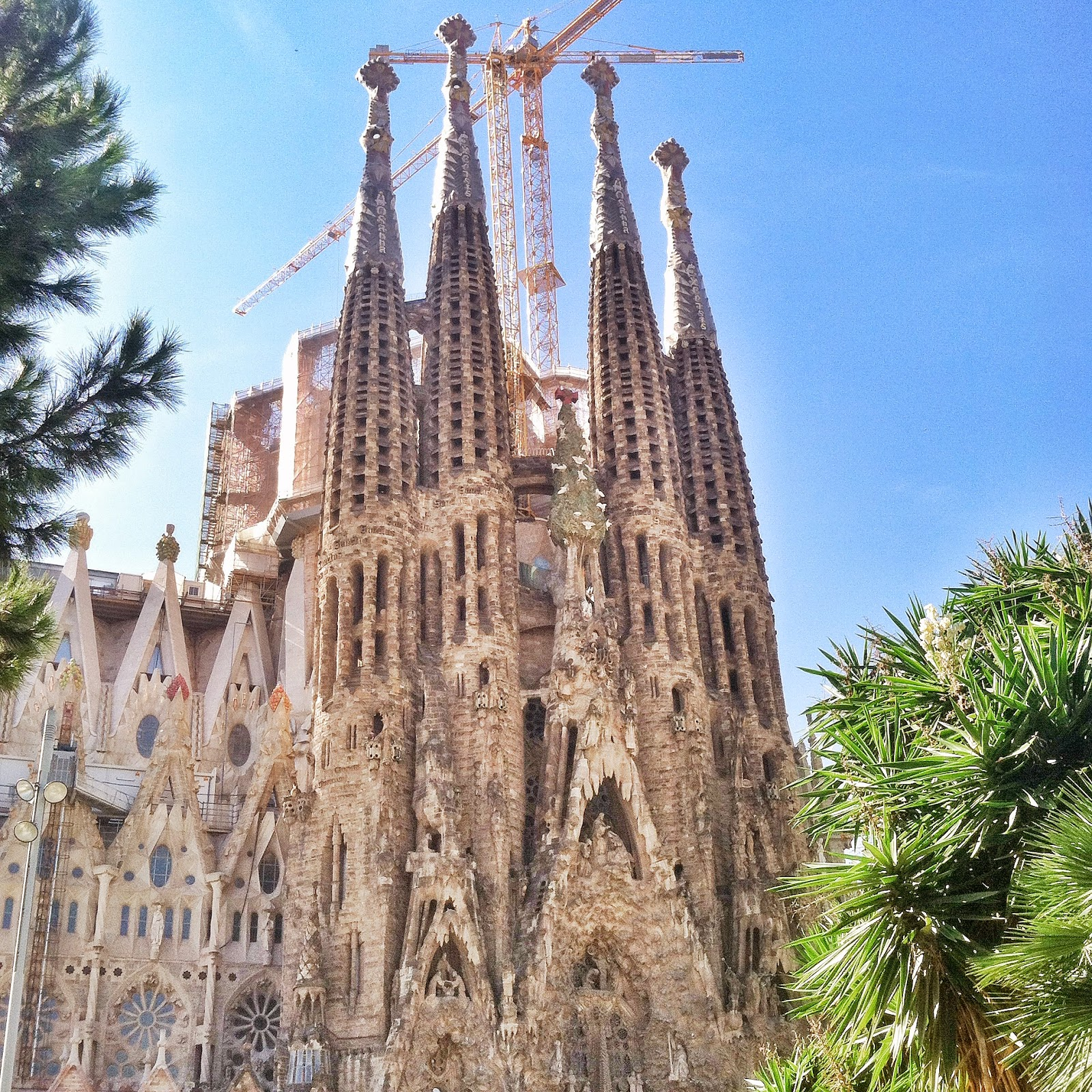 inside la sagrada familia at last dream live repeat. Black Bedroom Furniture Sets. Home Design Ideas