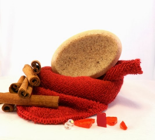 Warm Hearth Cinnamon Soap