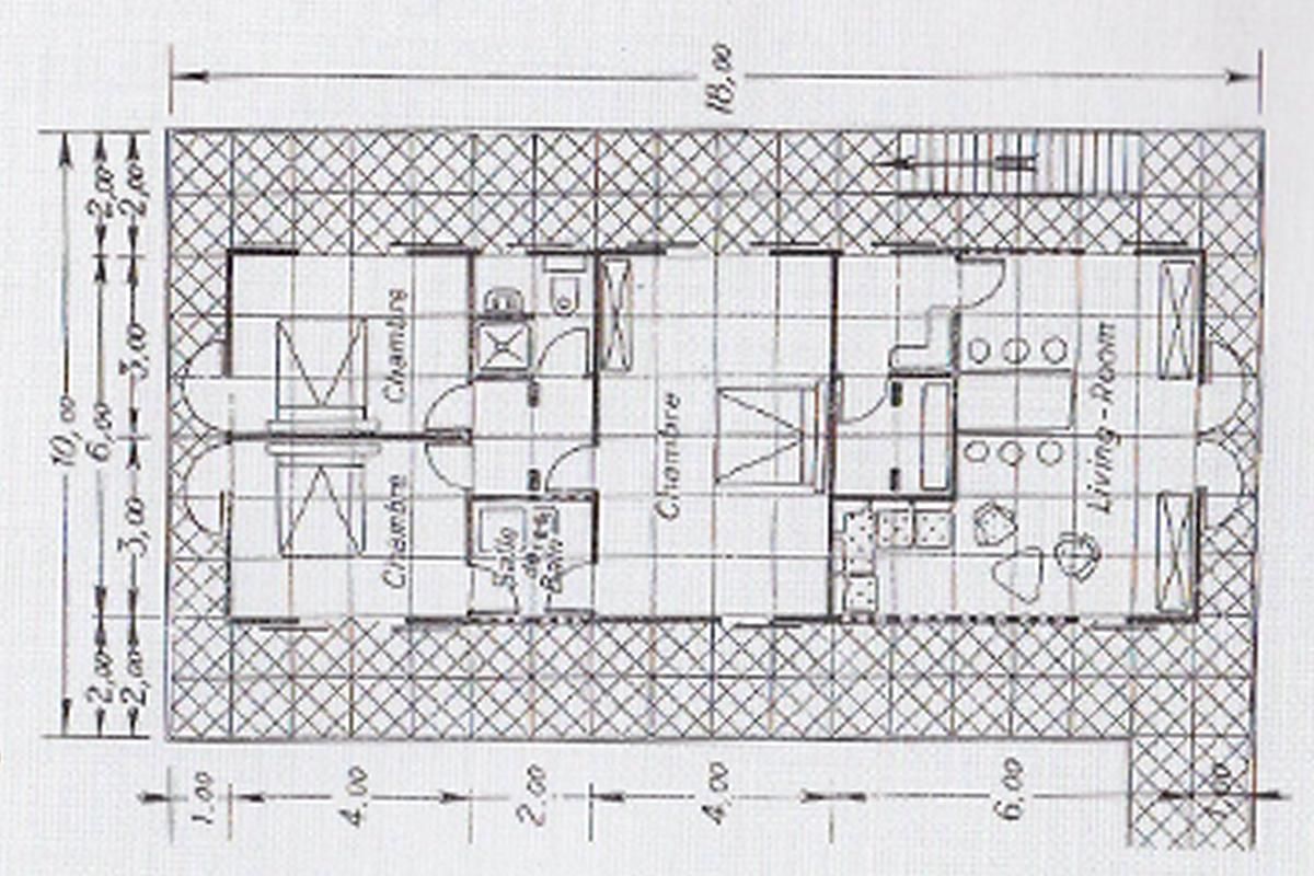 Future house s genealogy maison tropicale for Plan maison tropicale gratuit