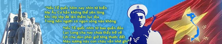 TRƯỜNG SA-HOÀNG SA LÀ CỦA VIỆT NAM