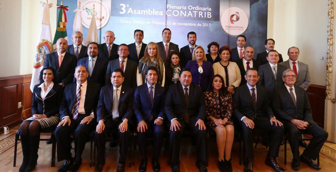 Eligen al Magistrado Sergio Javier Medina Peñaloza Presidente de la Comisión Nacional de Tribunales