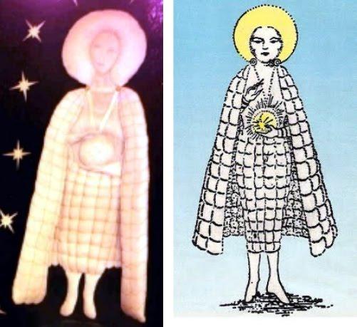 """El ser conocidodo como la """"virgen"""" de Fatima es muy parecido al demonio Lam canalizado por Aleister Crowley Virgen+-+el+ser+de+fatima2"""