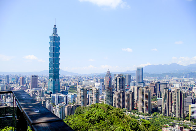 the Elephant Mountain hike in Taipei gives some of the best city views