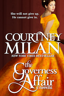 Book cover of The Governess Affair by Courtney Milan