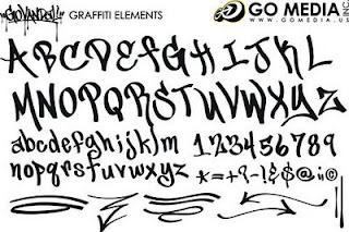 - graffiti of morality -: 14 Types Graffiti Fonts