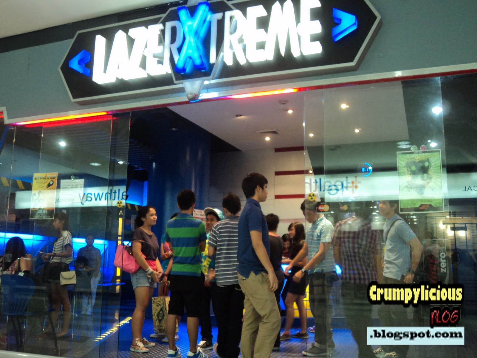 Point Blank Games Our Lazer Xtreme At Market Market