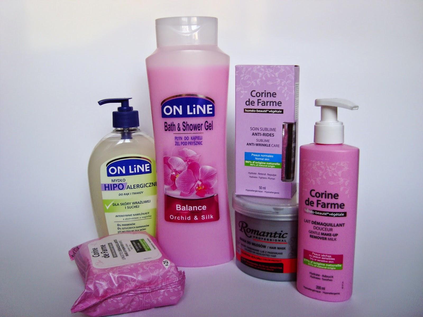 Chusteczki do demakijażu oraz żel pod prysznic ON LINE - Pomocne produkty marki Forte Sweden