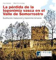 La pérdida de la toponimia vasca en el Valle de Somorrostro