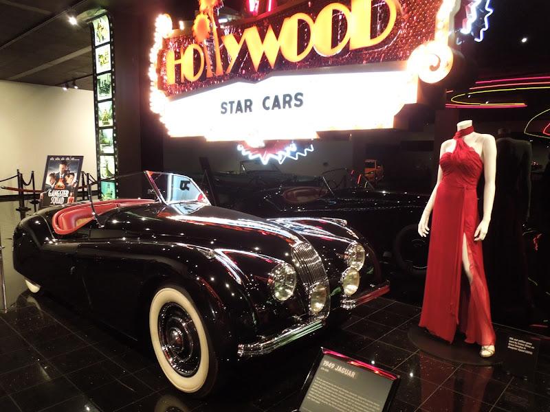 Emma Stone Gangster Squad gown 1949 Jaguar