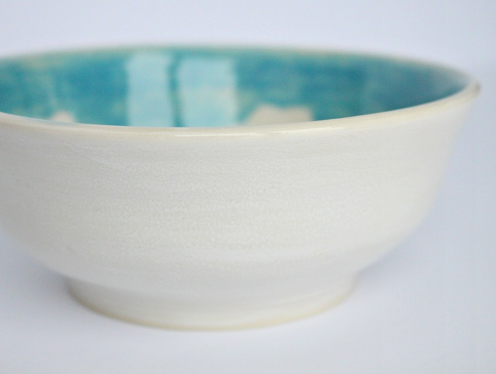 White Pottery Glaze