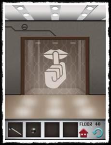 100 Floors Level 40