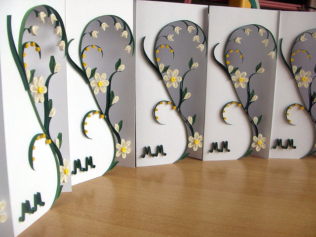 Quilling With Fun Wedding Invitations