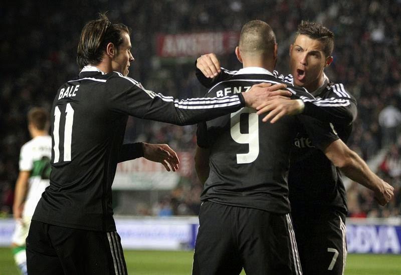 Real Madrid recebe Villareal no Bernabeu