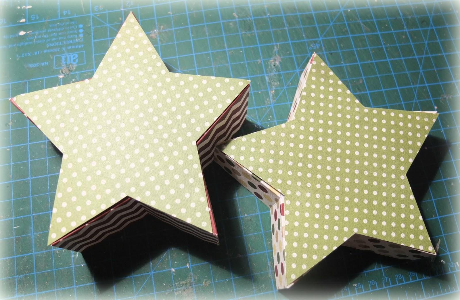 Как сделать звезду из коробки 631