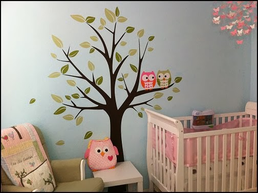 owl theme bedroom decorating ideas owl room decorations owl themed baby nursery owls - Ideas Of Bedroom Decoration 2