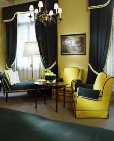 Elegante Zimmer im Hotel Sacher