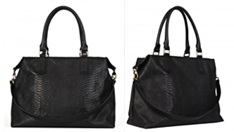 Rachael Ruddick, Global Traveller black tote bag,