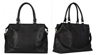 Rachael Ruddick, Global Traveller black tote bag,