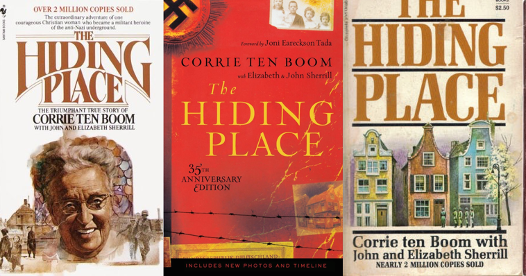 an analysis of the autobiographical account of corrie and betsie in the hiding place by corrie ten b Corrie ten boom stood naked with her older sister betsie, watching a  concentration camp matron beating a prisoneroh, the poor woman, corrie  criedyes.