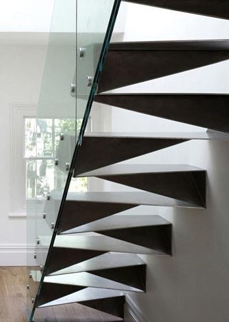 Amatysta las escaleras como medio de comunicaci n entre for Escalera un tramo