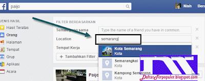 cara menemukan teman di facebook terbaru