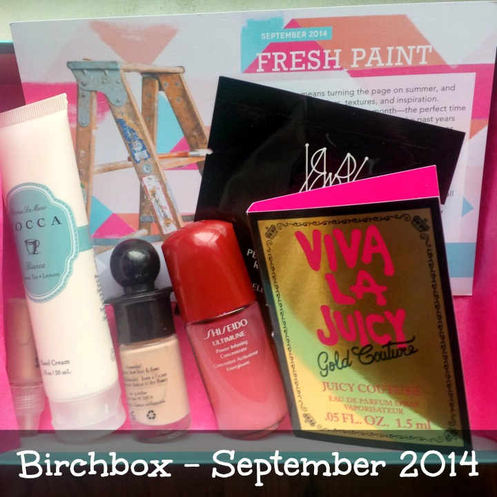 Birchbox September 2014 Review & Unboxing