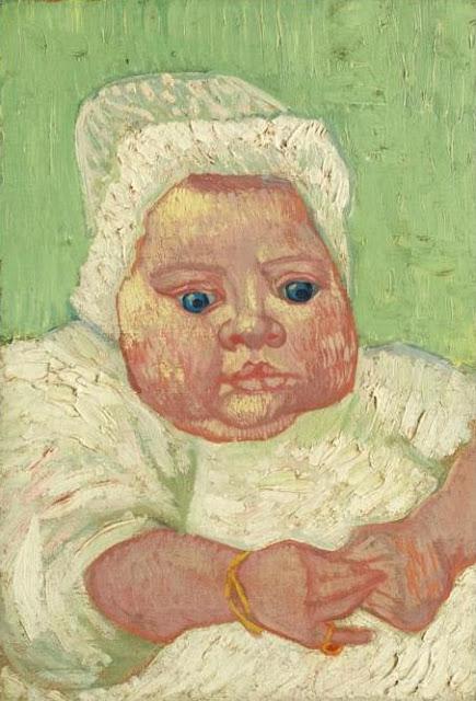 Portrait of Marcelle Roulin by Vincent van Gogh
