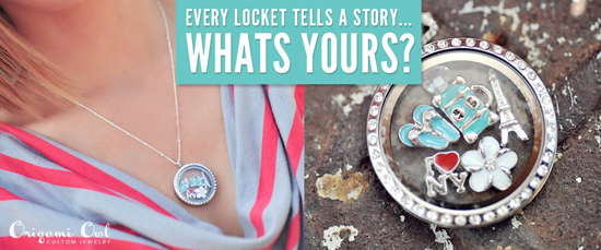 Every Locket Tells A Story...What's Yours?  Find it at StoriedCharms.com