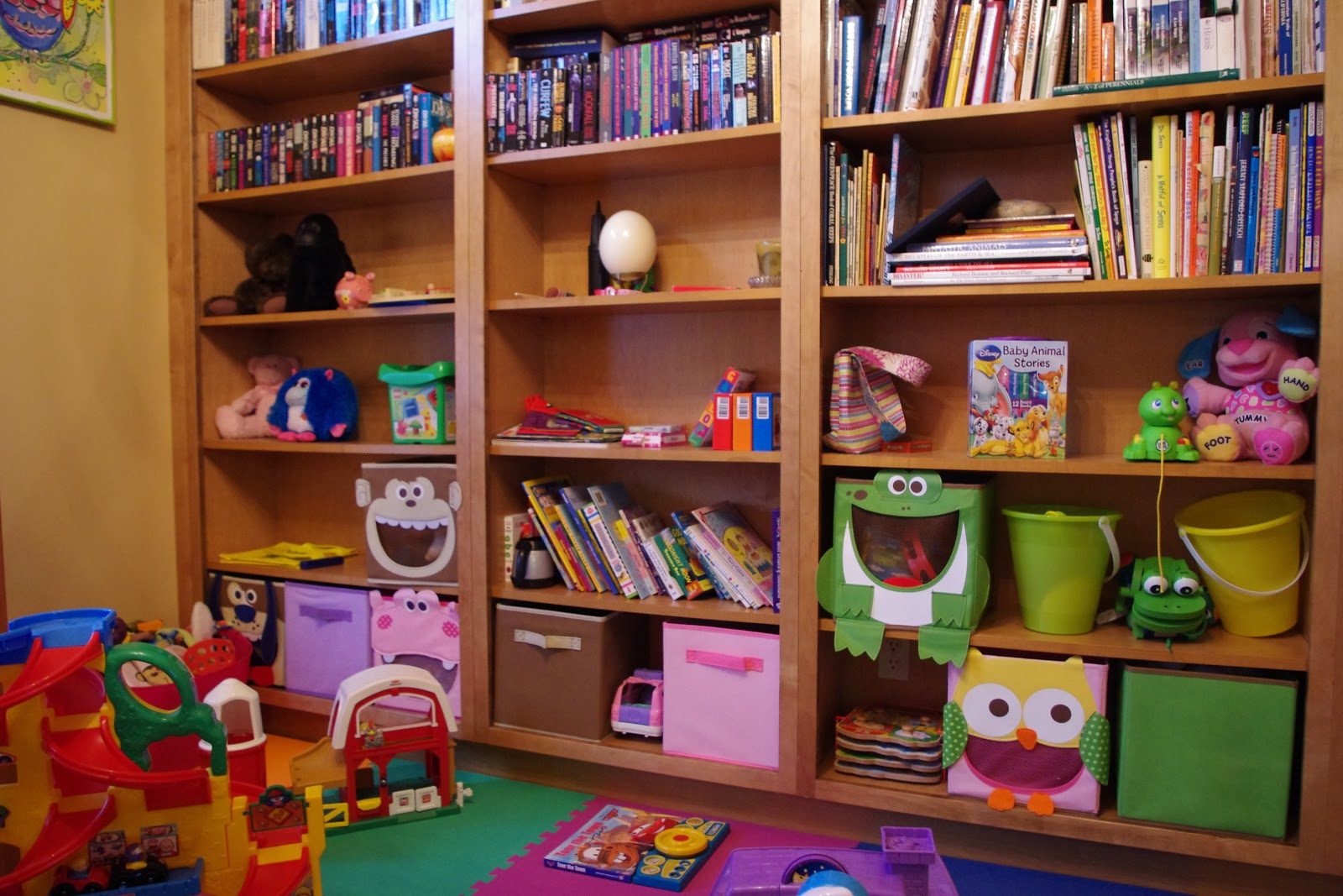 my life in snippets dining room turned playroom