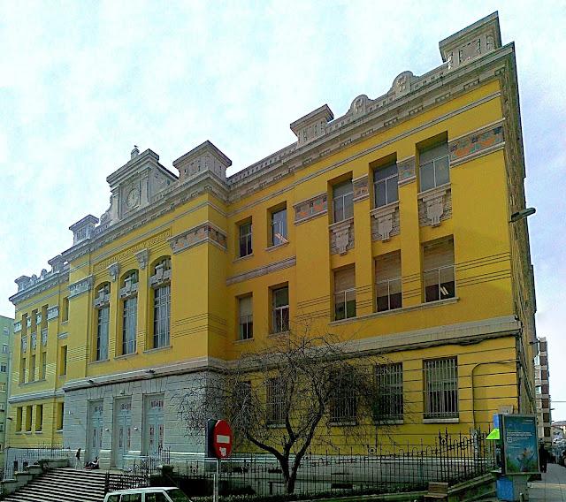 Edificio Instituto Santa Clara Santander