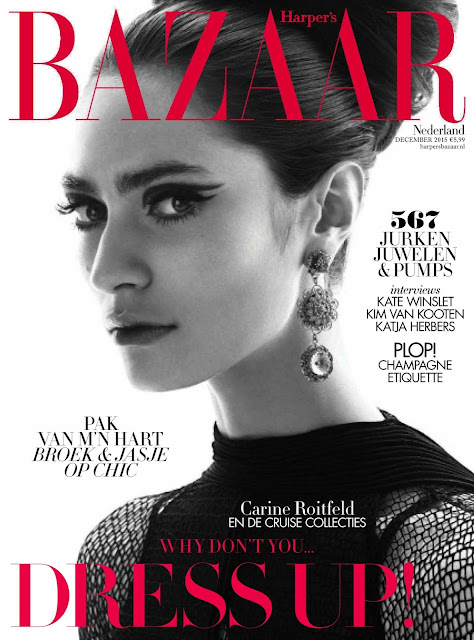 Fashion Model @ Marine Deleeuw - Harpers Bazaar Netherlands, December 2015