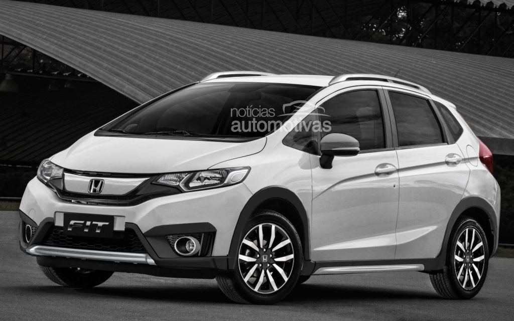 The New Honda Jazz With Crossover Models As Twist Plan Will Launch Its Car In Brazil Mid 2016