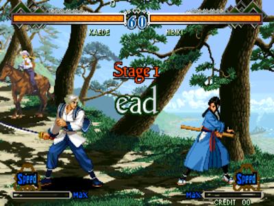街機:月華劍士1+2合集+作弊碼金手指,浪漫的幕末格鬥對戰遊戲!