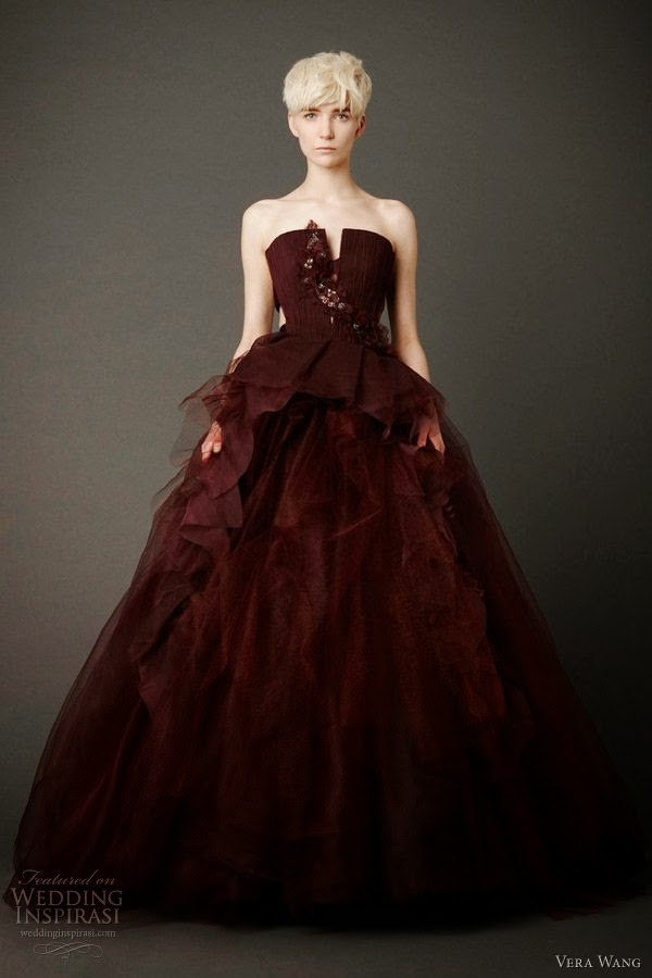 Burgundy wedding dress girls formal dresses for Burgundy and gold wedding dress