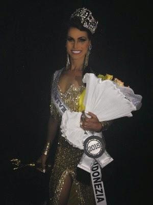 Cabelereira do Piauí é eleita Miss Universe Gay, em cerimônia realizada em Salvador (Foto: Caio Coroa/ Divulgação)