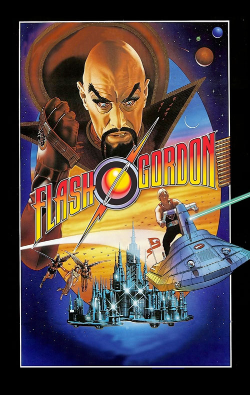 space1970 flash gordon 1980 original movie poster art