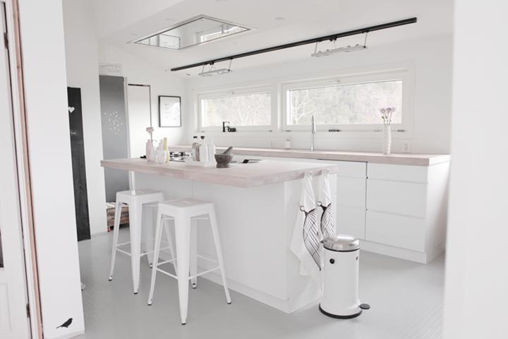 Nordisk interiør inspirasjon: kjøkken inspirasjon og kjøkken prosjekt