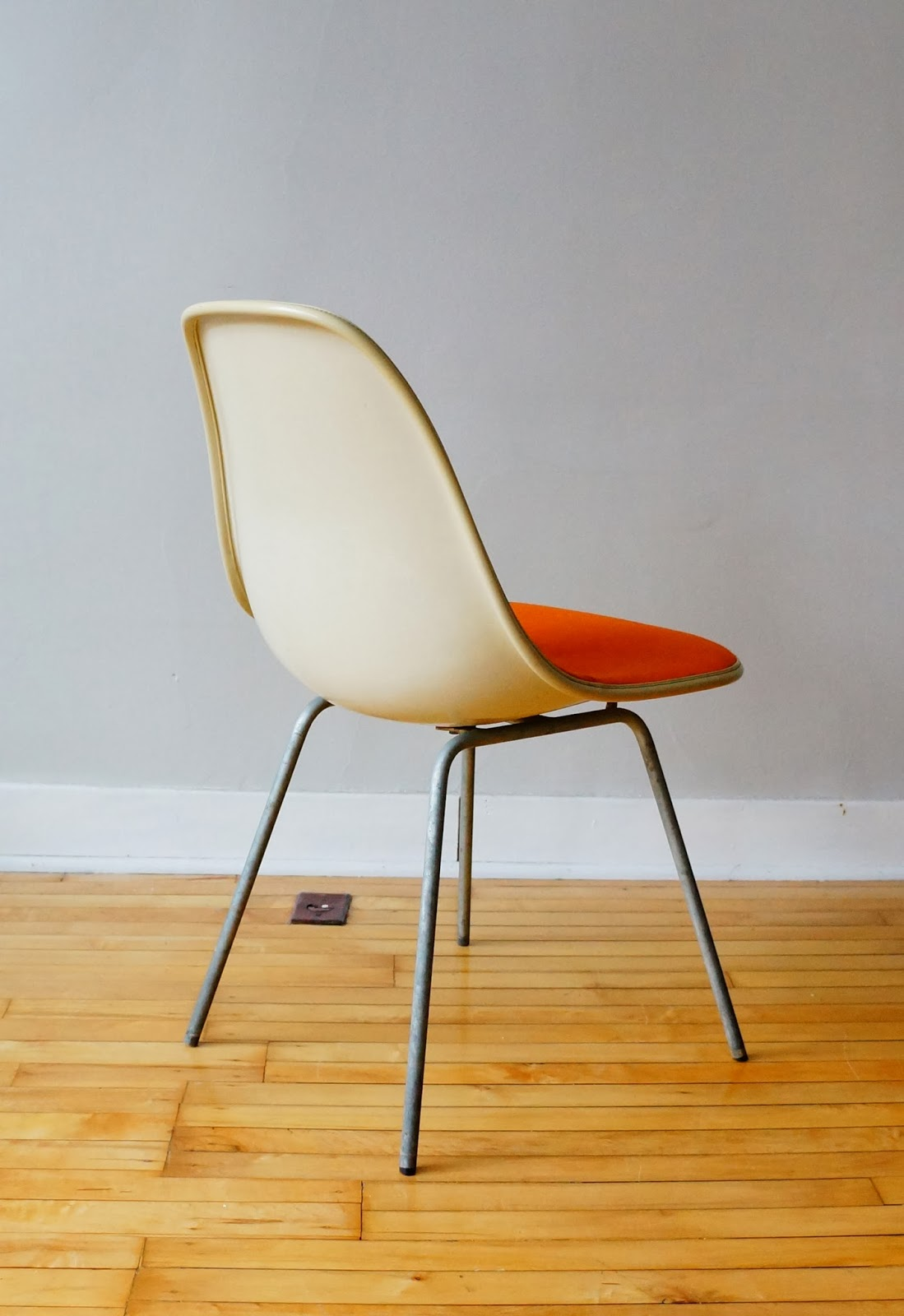 Herman Miller Padded Shell Chair Trio.