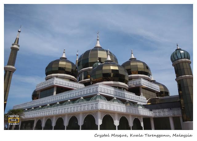 Masjid Kristal, Crystal Mosque, Kuala Terengganu, Malaysia   www.rambleandwander.com
