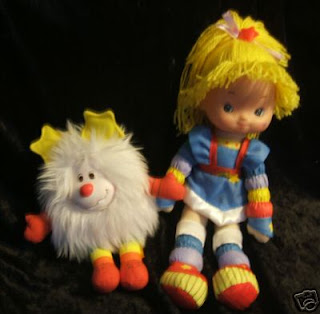 Rainbow Brite doll WITH Twink. I went through a totally hardcore stage where ...