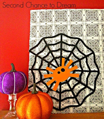 Dollar+store+vingette DIY Halloween Wall Art