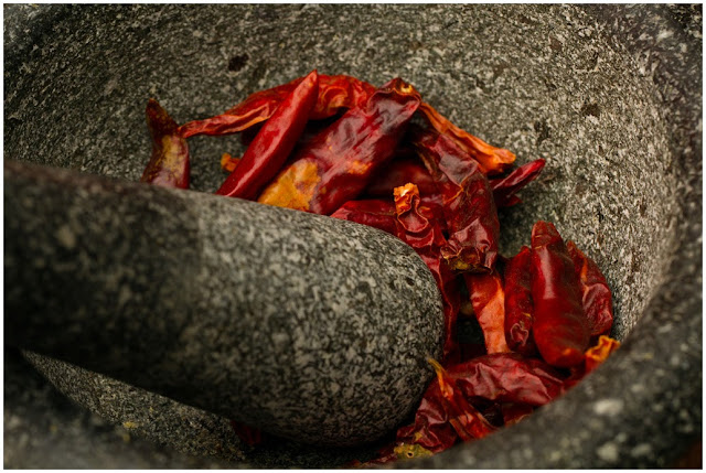 A photograph of Chillies