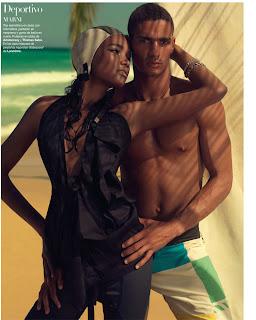 as1 Arlenis Sosa par Xevi Muntané pour Harper's Bazaar Spain