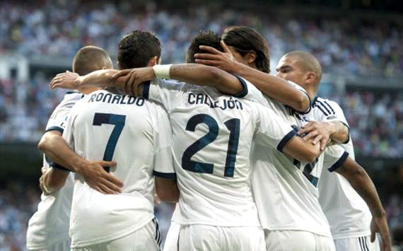 Foto Pertandingan Real Madrid Vs Granada