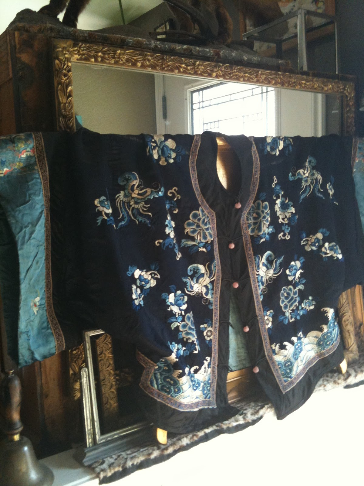 smashing rubbish vintage silk kimono jacket