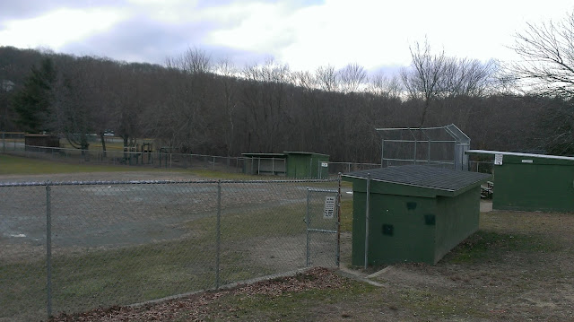 old baseball field