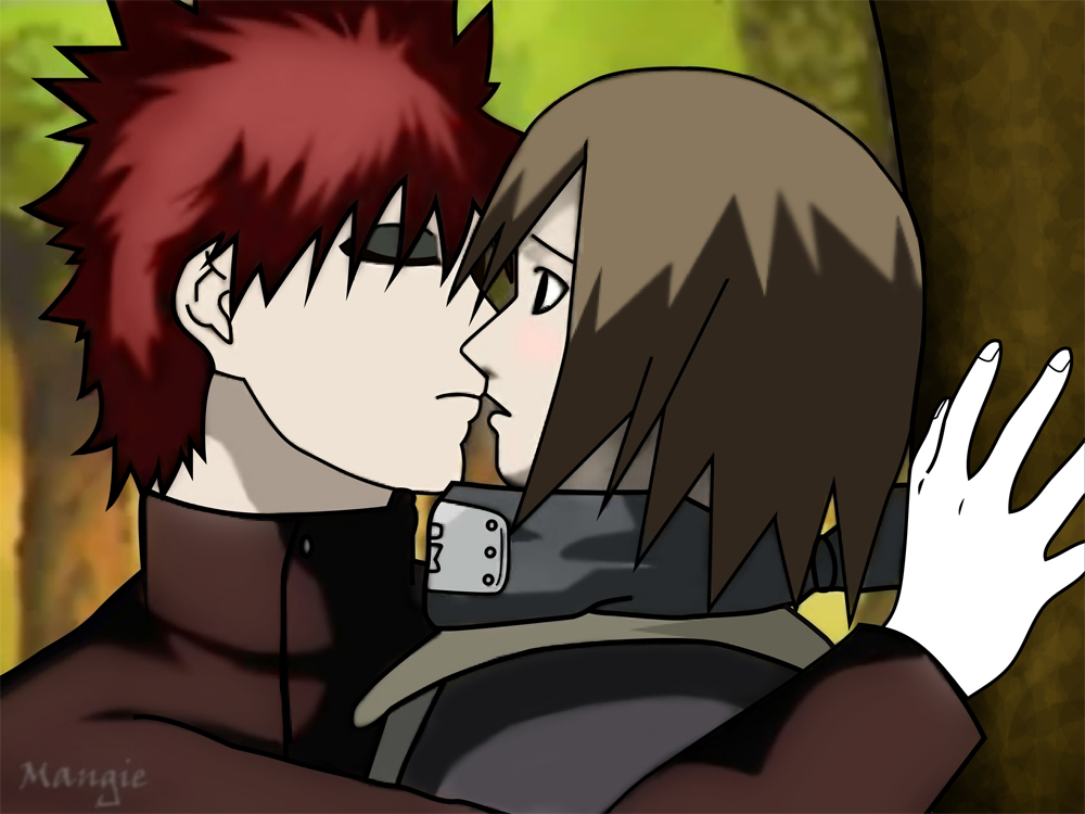 MATSURI WALLPAPERS | Naruto Imagens e Wallpapers Gaara And Matsuri Kiss